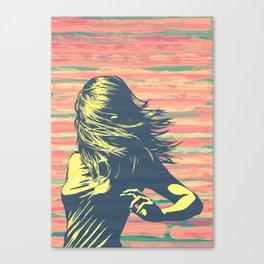 Lookback Canvas Print