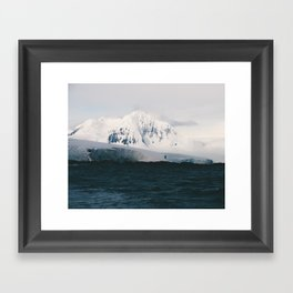 No Man's Land Framed Art Print