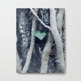 There is Heart in All of Us Metal Print