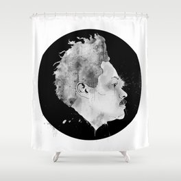 Mugshot 01  Shower Curtain