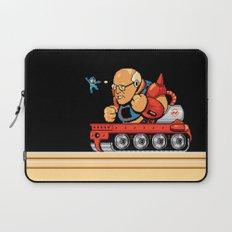 Megaman vs Dick Cheney Laptop Sleeve