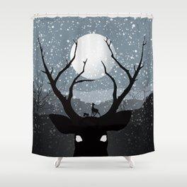 Bambi Shower Curtain
