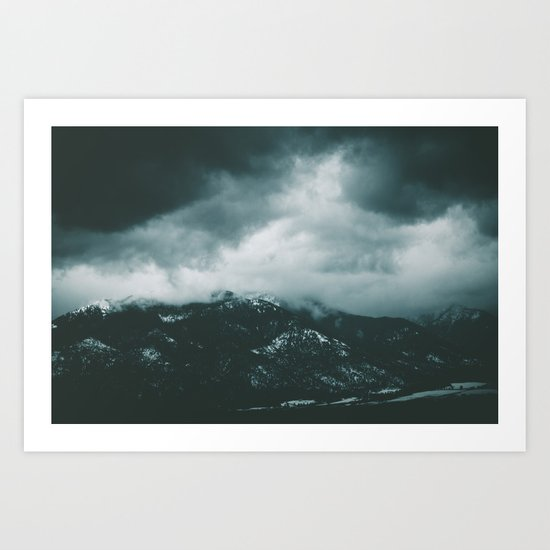 Blue Mountains II Art Print