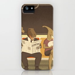 Dino Subway iPhone Case