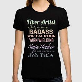 Fiber Artist T-shirt
