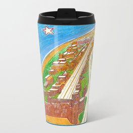 South Beach Metal Travel Mug