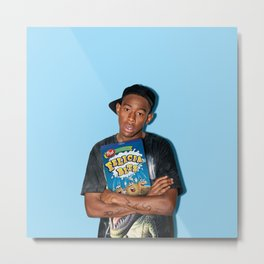 Felicia Bits | Rappers and Cereal Metal Print