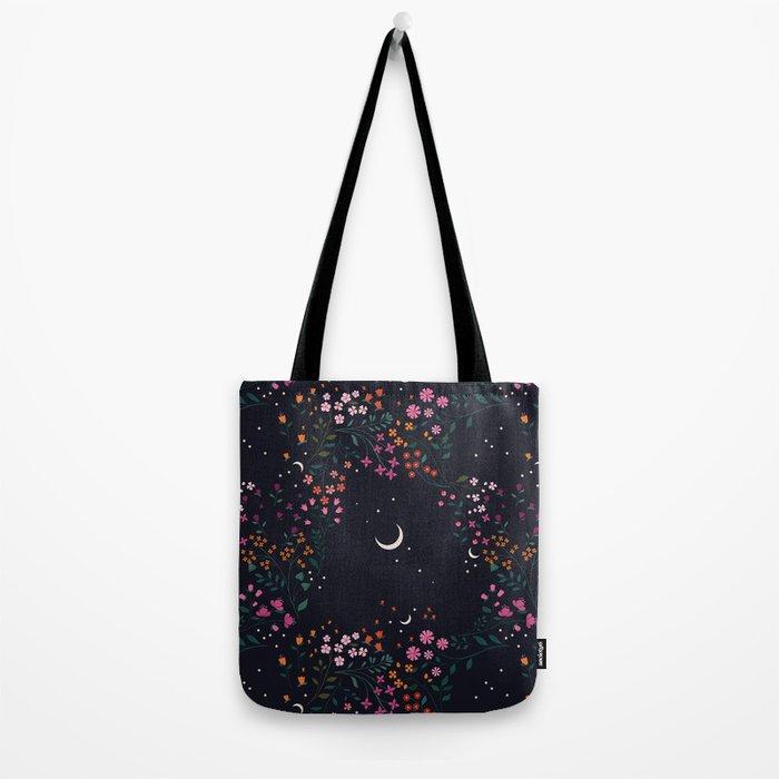 Midnight Garden Tote Bag