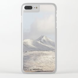 Mountains Are A Feeling III Clear iPhone Case
