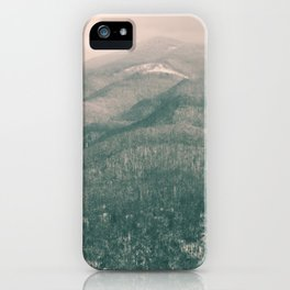 West Virginia Mountains iPhone Case