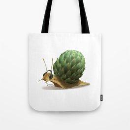 Snail DJ Tote Bag