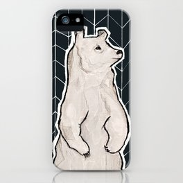 left alone. iPhone Case