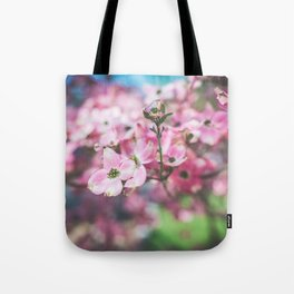 Vibrant Flowers Tote Bag