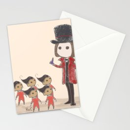 Willy Wonka and Oompa Loompa Stationery Cards