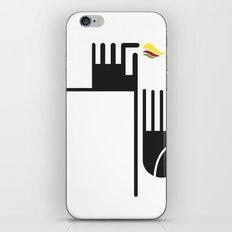 Feuer auf der Spitze iPhone & iPod Skin