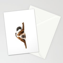 Basset Hound Laying Ears Stationery Cards