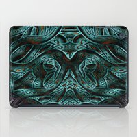 viking iPad Cases featuring Viking by RingWaveArt