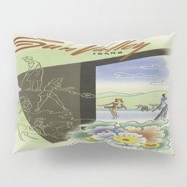 Vintage poster - Sun Valley, Idaho Pillow Sham