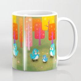 Happy Little Bluebirds Sing Their Song Coffee Mug