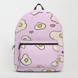 i love eggs Backpack