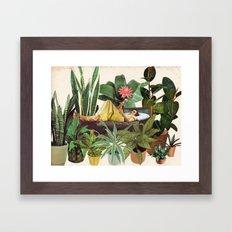 TERRARIUM Framed Art Print