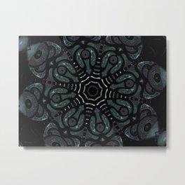 Dark Mandala #4 Metal Print