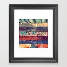 DESCONCIERTO Framed Art Print