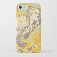 dragon age iPhone & iPod Cases featuring Dragon Age: Justice by Sara Cuervo