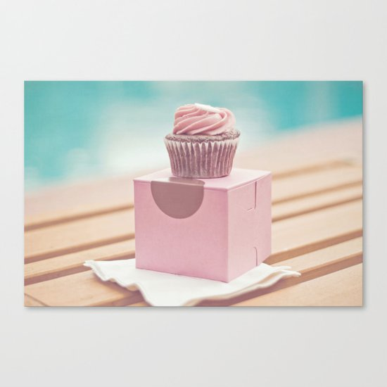 Californian Cupcake Canvas Print