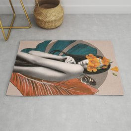Tropical Girl 5 Rug