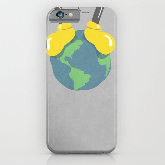 it is a small world after all (mouse version) iPhone & iPod Case