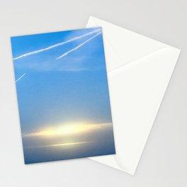 Vapor Trails Stationery Cards