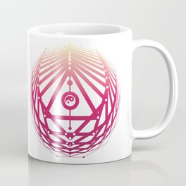Radiant Abundance (white-sunrise) Coffee Mug