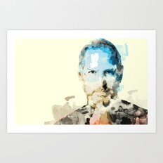 Paint a new idea Art Print