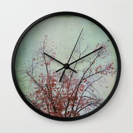 Nature has arms for those who need a hug Wall Clock