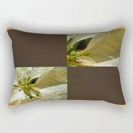 Pale Yellow Poinsettia 1 Blank Q3F0 Rectangular Pillow