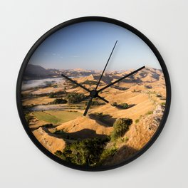 Hills of Old Wall Clock