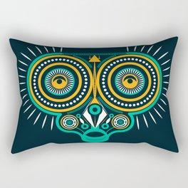 horned owl Rectangular Pillow