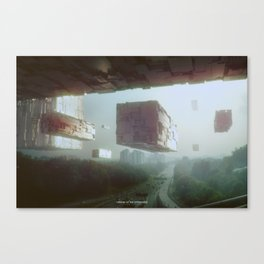 Visions of the Hyperverse Canvas Print