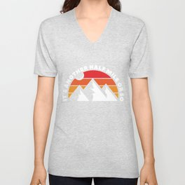 Another Miles Of Hiking Unisex V-Neck