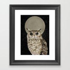 Sleepless Nights Framed Art Print