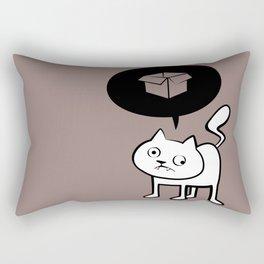 minima - derpicat   box Rectangular Pillow