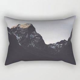 Dark Mountains #society6 #buyart Rectangular Pillow