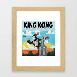 King Kong Poster Framed Art Print