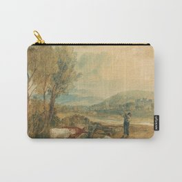 """J.M.W. Turner """"Lulworth Castle, Dorset"""" Carry-All Pouch"""