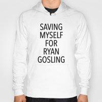 ryan gosling Hoodies featuring Gosling by ClicheZero