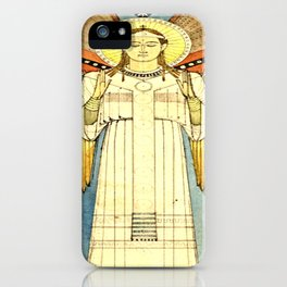 Design for an Angel -  Desiderius Lenz (1874) iPhone Case