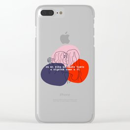 juliantina forever Clear iPhone Case
