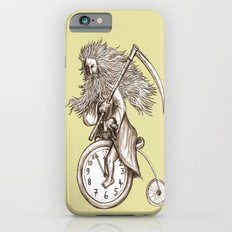 Father Time on a Penny Farthing Slim Case iPhone 6s