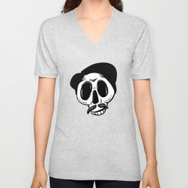 The Most Best Skull Unisex V-Neck